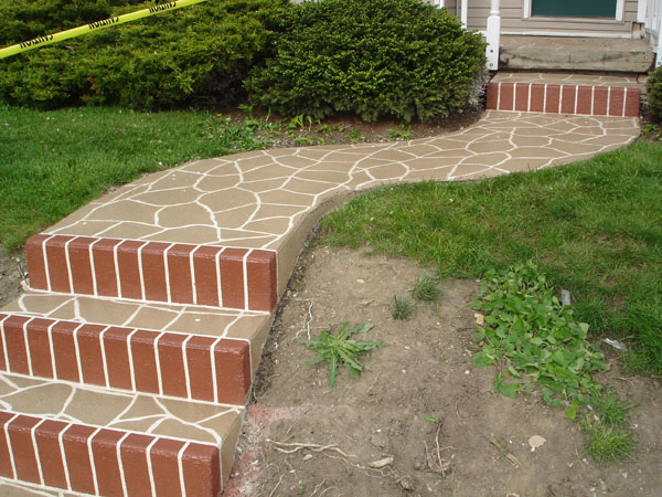 Stamped Overlay - Front Porch 2