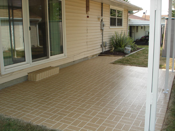 Stamped Overlay - Front Porch 1